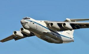 """Nga giúp Ấn Độ """"mở rộng tầm mắt"""" về sức mạnh của vận tải cơ Ilyushin IL-76"""