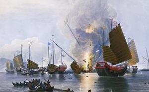 Trận hải quân Anh hủy diệt hạm đội tàu Trung Quốc trong một buổi chiều