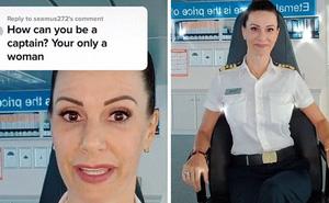 Bị mỉa mai vì là phụ nữ, nữ thuyền trưởng đáp trả sâu cay, dân mạng hết lời khen ngợi