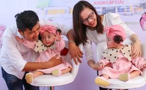 Trúc Nhi-Diệu Nhi đáng yêu ngày xuất viện, ca đại phẫu được xác nhận kỷ lục  Việt Nam