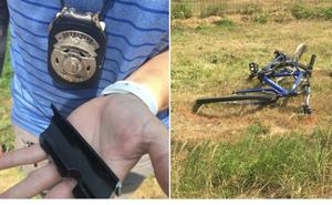 Tài xế đâm chết người rồi bỏ trốn, cảnh sát chụp mảnh kim loại ở hiện trường cầu cứu dân mạng