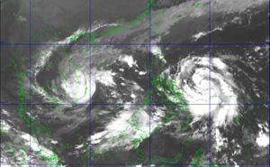 Tâm bão số 12 ngay trên vùng biển từ Bình Định đến Ninh Thuận