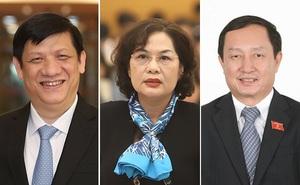 Thủ tướng trình Quốc hội phê chuẩn bổ nhiệm Bộ trưởng KH&CN, Bộ trưởng Y tế và Thống đốc Ngân hàng Nhà nước