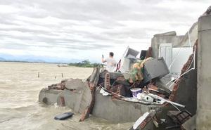 Bão số 13 quần thảo suốt 4 giờ ở vùng ven biển Thừa Thiên - Huế