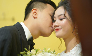 """Độc quyền: Thần đồng Chim Sẻ Đi Nắng chính thức """"chui hốc"""" thành công, rạng rỡ trong ngày cưới của mình"""