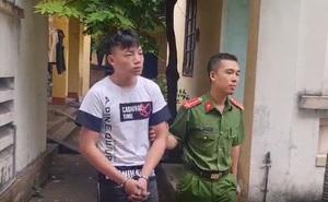 4 thiếu niên chặn đường cướp xe máy ở Bắc Giang