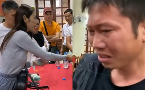 Cán bộ xã đưa 2 người nông dân đến gặp Thủy Tiên và cái kết cảm động tới bật khóc