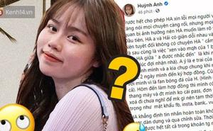 Cô gái tố Huỳnh Anh là Tuesday bất ngờ đăng status: 'Chúc anh sớm trưởng thành, đừng để cô ấy tổn thương như em'