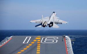 Tàu sân bay Trung Quốc đang đi vào giai đoạn sẵn sàng chiến đấu?