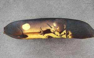Kinh ngạc với những tác phẩm nghệ thuật sáng tạo từ những quả chuối thâm bầm