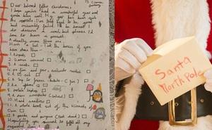 """Thư gửi ông già Noel của bé gái 9 tuổi: Vé máy bay đi Pháp, điện thoại, tai nghe có đủ, nhất là yêu cầu cuối cùng ai nghe cũng """"bật ngửa"""""""
