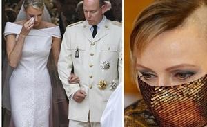 Lộ khoảnh khắc đôi mắt u sầu đằng sau mái tóc cạo nửa đầu nổi loạn của Vương phi Monaco: Chưa từng có lấy một ngày hạnh phúc trọn vẹn!