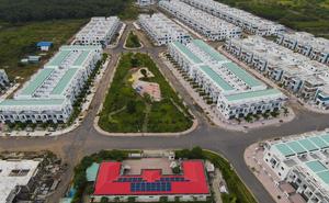 [Ảnh] Cận cảnh dự án với gần 500 căn nhà trái phép, được quảng cáo là đô thị thông minh đầu tiên tại Việt Nam