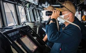 Mỹ bác chuyện tàu chiến bị Trung Quốc xua đuổi ở Trường Sa