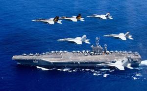 """""""Dằn mặt"""" Trung Quốc, Mỹ sẽ điều thêm nhiều máy bay chiến đấu tới châu Á trong năm 2021"""