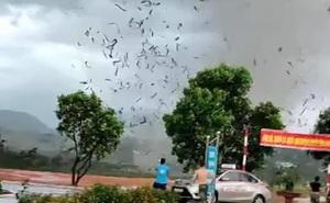[NÓNG] 3 người chết, 18 người bị thương sau trận lốc xoáy làm sập nhà xưởng ở Vĩnh Phúc