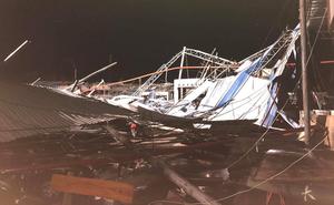 Hiện trường tan hoang vụ sập nhà xưởng ở Vĩnh Phúc làm 3 người chết, 18 người bị thương