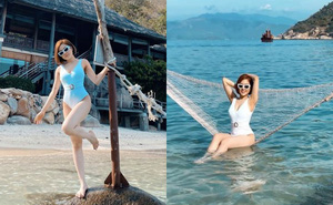 Hot girl Trâm Anh lần đầu đăng ảnh bikini nóng bỏng sau biến cố
