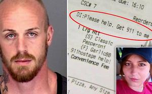 Người phụ nữ bị bạn trai tước điện thoại và bắt nhốt cùng 3 con sống sót thần kỳ nhờ vào hóa đơn đặt pizza online giao đến nhà