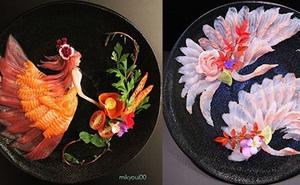 """Chỉ là """"tay ngang"""" nhưng cách thể hiện món ăn lại vô cùng xuất sắc bảo sao hàng chục ngàn người """"bấn loạn"""" trước tài bếp núc của ông bố Nhật Bản này!"""