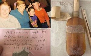 Tìm lại được những bức thư giấu sau tường nhà cũ từ cách đây 30 năm, người phụ nữ bật khóc khi đọc lời nhắn của anh trai quá cố