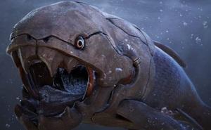 Tử thần bọc thép cắn đôi cá mập trong 1/50 giây