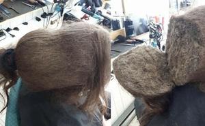 """Mang mái tóc bết nhiều năm không cắt đến tiệm đòi phục hồi, cô gái gây choáng với """"tổ quạ"""" trên đầu, hình ảnh sau tân trang khiến ai cũng ngỡ ngàng"""