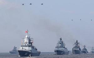 Khoảng 200 tàu chiến sẽ tham gia diễu hành trong Ngày Hải quân Nga