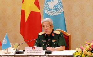 Sĩ quan Gìn giữ Hòa bình Việt Nam ghi dấu ấn phòng chống Covid-19