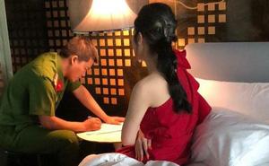 Một cô gái trong đường dây bán dâm giá 30.000 USD khai là hoa hậu cuộc thi sắc đẹp ở nước ngoài