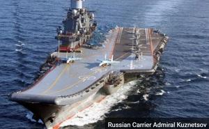 Nga học Trung Quốc cải tạo tàu sân bay Đô đốc Kuznetsov có biệt danh 'ống khói'?