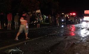 Tai nạn nghiêm trọng làm 8 người tử vong, nhiều người bị thương ở Bình Thuận: Tốc độ 2 xe là bao nhiêu?