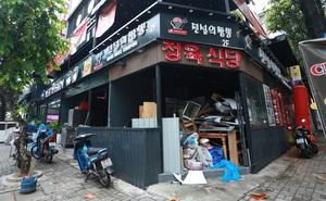 'Phố Hàn Quốc' ở Sài Gòn cửa đóng then cài, đìu hiu, xơ xác đến khó tin
