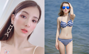 """Vợ người mẫu nóng bỏng, kém 22 tuổi được """"Thiên vương Hong Kong"""" chiều như bà hoàng là ai?"""