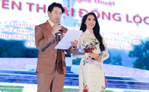 Kim Huyền Sâm, Mạnh Cường dẫn ăn ý trong chương trình Huyền thoại Đồng Lộc