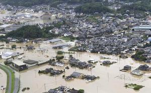 Nhật Bản lại oằn mình chống chọi với đợt mưa lũ mới