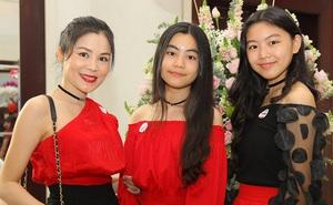 Cận cảnh nhan sắc hai ái nữ con MC Quyền Linh