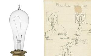 Tờ giấy vẽ hình bóng đèn được bán lại với giá 2,6 tỷ đồng
