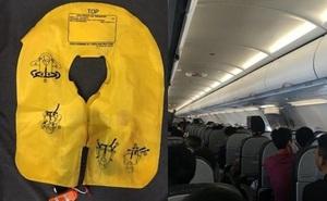 Xé áo phao, không nộp phạt, nữ hành khách ở Hà Nội bị cấm bay 1 năm