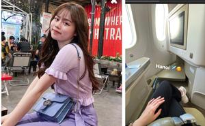 Vi vu đi chơi nhưng Huỳnh Anh vẫn nhớ quay về Hà Nội trong ngày Quang Hải có thể trở lại