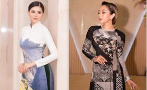 Ca sĩ Phương Anh, hoa hậu Kim Nguyên đẹp nổi bật với áo dài của NTK Nhật Dũng
