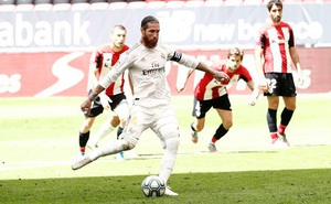 Sút phạt đền 'bách phát bách trúng', Ramos lập kỷ lục vĩ đại