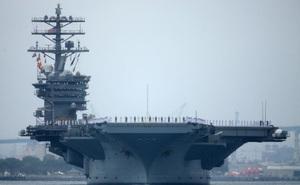 Hai tàu sân bay Mỹ bị tàu Trung Quốc theo dõi khi tập trận trên biển Đông