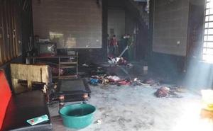 Người mẹ trong vụ mua xăng phóng hỏa tự thiêu cùng 3 con đã tử vong