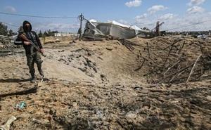 Israel tấn công các cơ sở của Hamas
