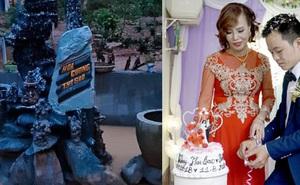 """Cô dâu 63 tuổi ở Cao Bằng khoe cận cảnh tấm bia đá khắc tên hai vợ chồng từng bị cho là """"điềm gở"""", tiết lộ những lời chửi rủa cay nghiệt nhận được suốt 2 năm lấy chồng vừa qua"""