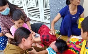 Công an xác minh việc 1 phụ nữ đặt giường trước cổng nhà nguyên Phó Công an huyện đòi tiền