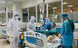 Còn 7 bệnh nhân Covid-19 đang nguy kịch, nguy cơ tử vong bất cứ lúc nào