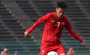 Tiền đạo HAGL lập công, giúp đội nhà thắng trận ở cuộc đấu tập nội bộ của U22 Việt Nam