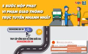 5 bước nộp phạt vi phạm giao thông trực tuyến nhanh nhất